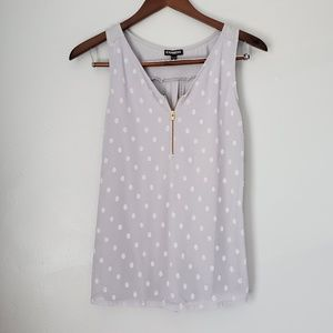 Express swiss dot tank top